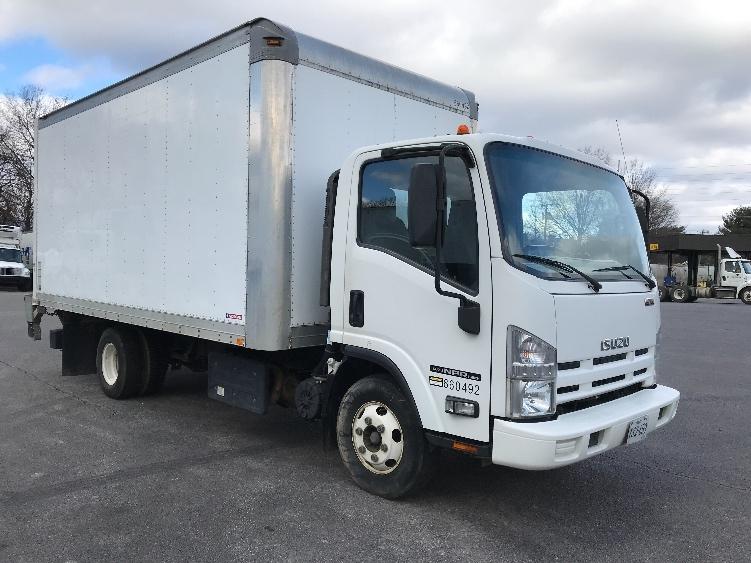 Medium Duty Box Truck-Light and Medium Duty Trucks-Isuzu-2013-NPR-SALEM-VA-100,073 miles-$28,750