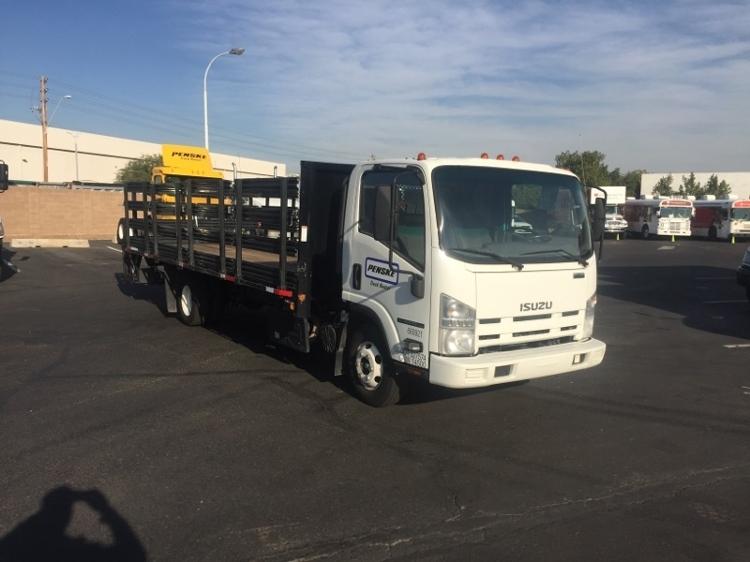 Flatbed Truck-Light and Medium Duty Trucks-Isuzu-2013-NPR-PHOENIX-AZ-67,945 miles-$34,500