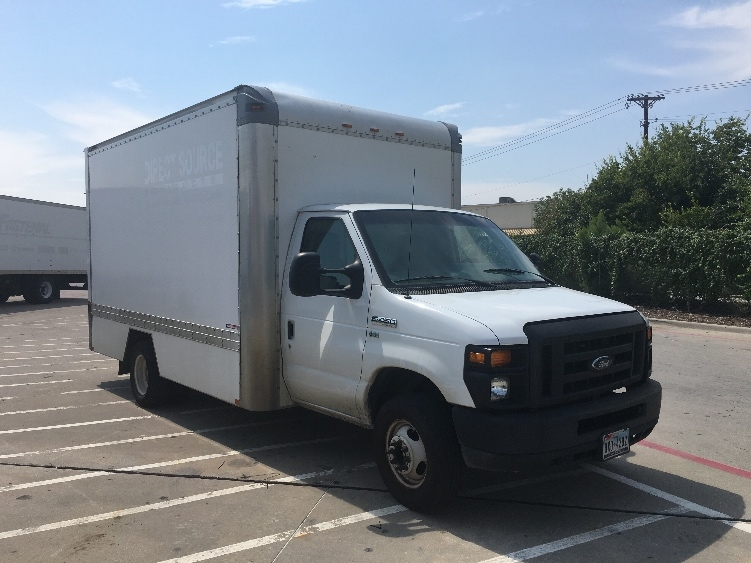 Light Duty Box Truck-Light and Medium Duty Trucks-Ford-2012-E450-DALLAS-TX-132,191 miles-$15,250
