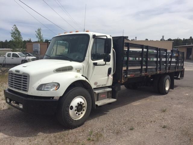Flatbed Truck-Light and Medium Duty Trucks-Freightliner-2013-M2-PHOENIX-AZ-236,372 miles-$36,750
