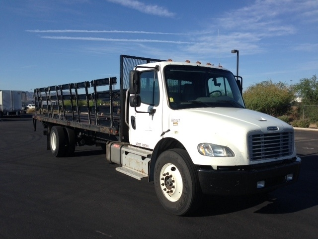 Flatbed Truck-Light and Medium Duty Trucks-Freightliner-2013-M2-PHOENIX-AZ-304,514 miles-$28,750