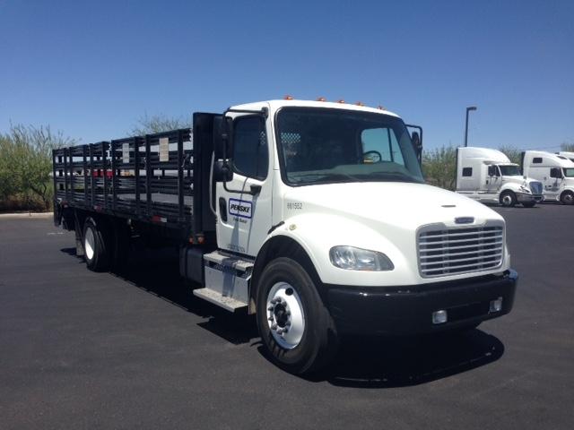 Flatbed Truck-Light and Medium Duty Trucks-Freightliner-2013-M2-PHOENIX-AZ-129,655 miles-$53,000