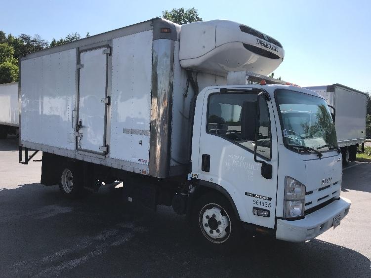 Reefer Truck-Light and Medium Duty Trucks-Isuzu-2013-NQR-JESSUP-MD-190,722 miles-$31,500