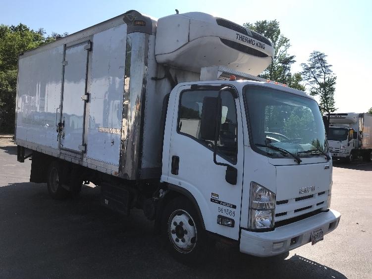 Reefer Truck-Light and Medium Duty Trucks-Isuzu-2013-NQR-JESSUP-MD-154,856 miles-$34,000