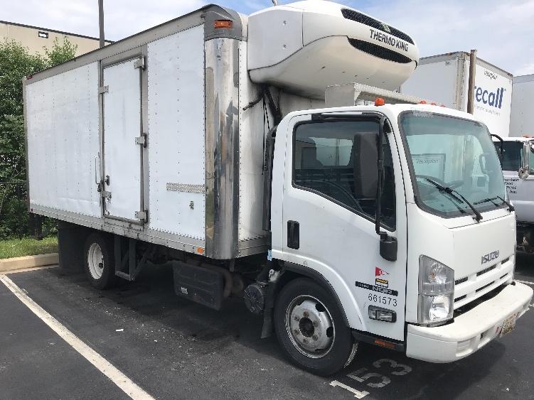 Reefer Truck-Light and Medium Duty Trucks-Isuzu-2013-NQR-JESSUP-MD-151,689 miles-$34,250