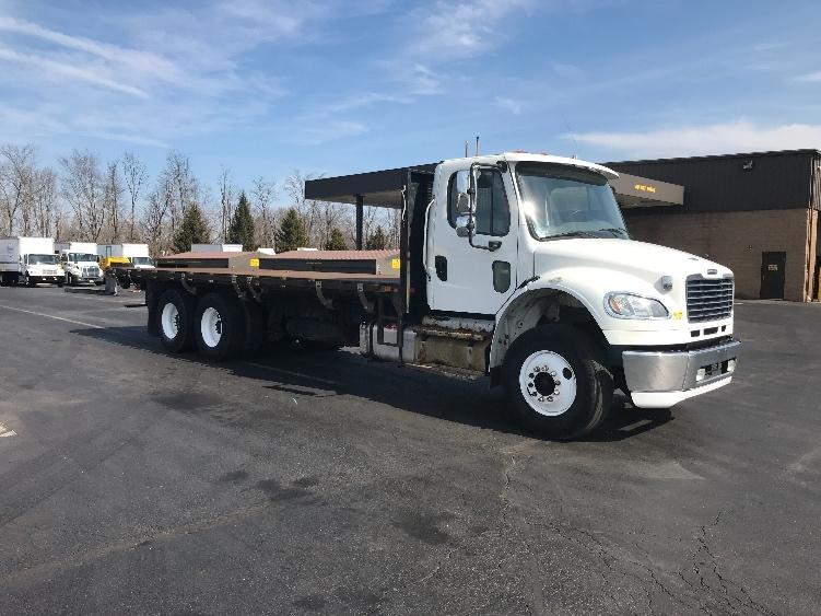 Flatbed Truck-Light and Medium Duty Trucks-Freightliner-2013-M2-BENSALEM-PA-321,885 miles-$35,750