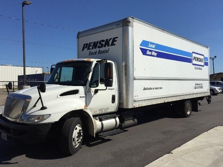 Medium Duty Box Truck-Light and Medium Duty Trucks-International-2013-4300LP-PANAMA CITY-FL-121,368 miles-$32,000