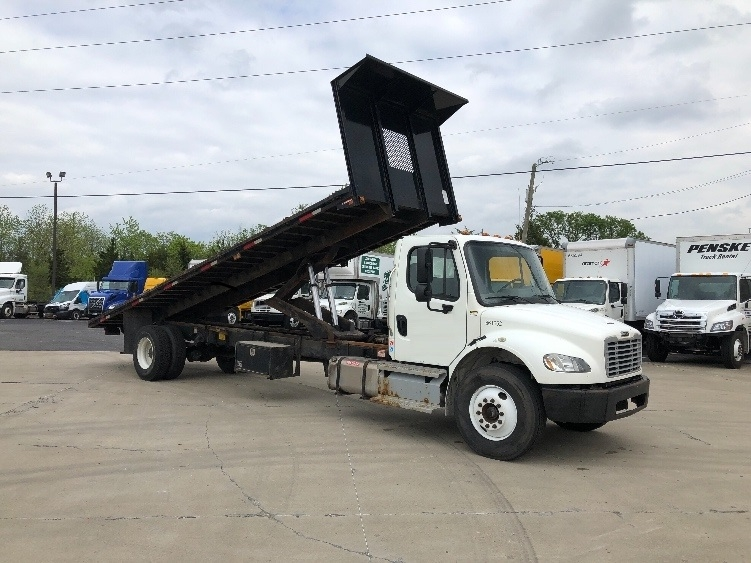 Flatbed Truck-Light and Medium Duty Trucks-Freightliner-2013-M2-INDIANAPOLIS-IN-243,245 miles-$39,000