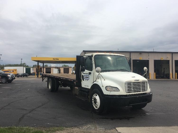 Flatbed Truck-Light and Medium Duty Trucks-Freightliner-2013-M2-ELKHART-IN-184,394 miles-$34,000