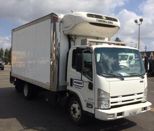 Reefer Truck-Light and Medium Duty Trucks-Isuzu-2013-NQR-MONTEBELLO-CA-97,800 miles-$46,250