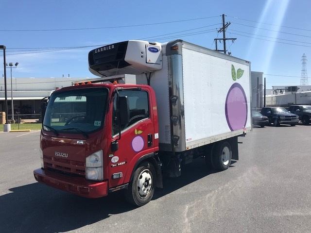 Reefer Truck-Light and Medium Duty Trucks-Isuzu-2013-NQR-HAMMOND-LA-121,391 miles-$38,500
