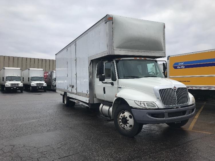 Medium Duty Box Truck-Light and Medium Duty Trucks-International-2013-4300M7-EARTH CITY-MO-154,054 miles-$13,000
