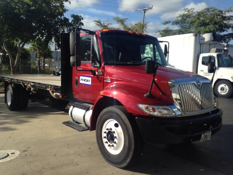 Flatbed Truck-Specialized Equipment-International-2013-4300-RIVIERA BEACH-FL-91,384 miles-$41,500