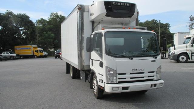 Reefer Truck-Light and Medium Duty Trucks-Isuzu-2013-NQR-PENSACOLA-FL-178,329 miles-$30,750