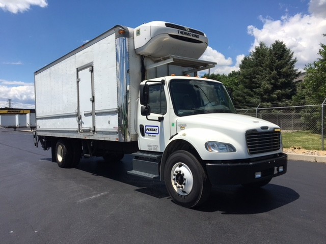 Reefer Truck-Light and Medium Duty Trucks-Freightliner-2013-M2-LANCASTER-PA-160,134 miles-$44,750