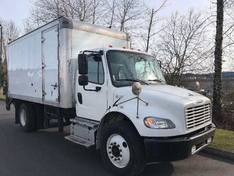 Medium Duty Box Truck-Light and Medium Duty Trucks-Freightliner-2013-M2-CLACKAMAS-OR-115,226 miles-$34,250