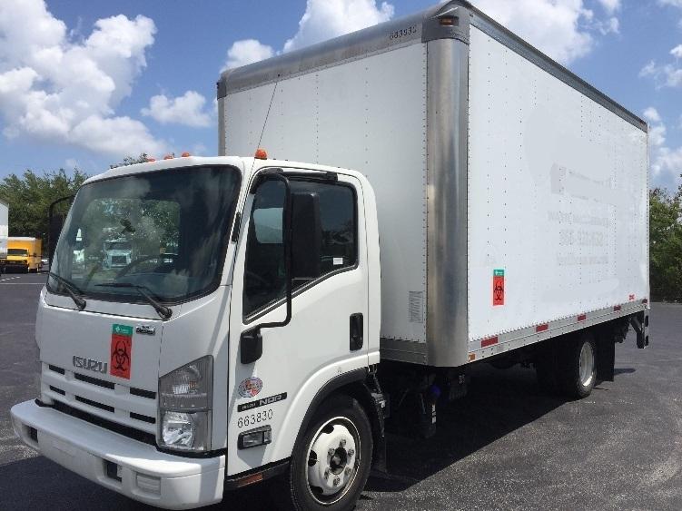 Medium Duty Box Truck-Light and Medium Duty Trucks-Isuzu-2013-NQR-RIVIERA BEACH-FL-125,110 miles-$32,750