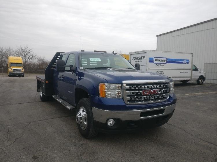 Flatbed Truck-Light and Medium Duty Trucks-GMC-2013-C31043-ROCKFORD-IL-134,182 miles-$30,500