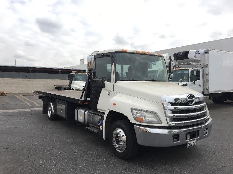 Flatbed Truck-Light and Medium Duty Trucks-Hino-2012-258LP-CITY OF INDUSTRY-CA-259,206 miles-$42,250