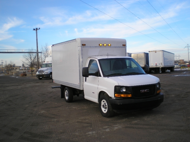Light Duty Box Truck-Light and Medium Duty Trucks-GMC-2013-Savana G33503-ST CLOUD-MN-169,124 miles-$18,750
