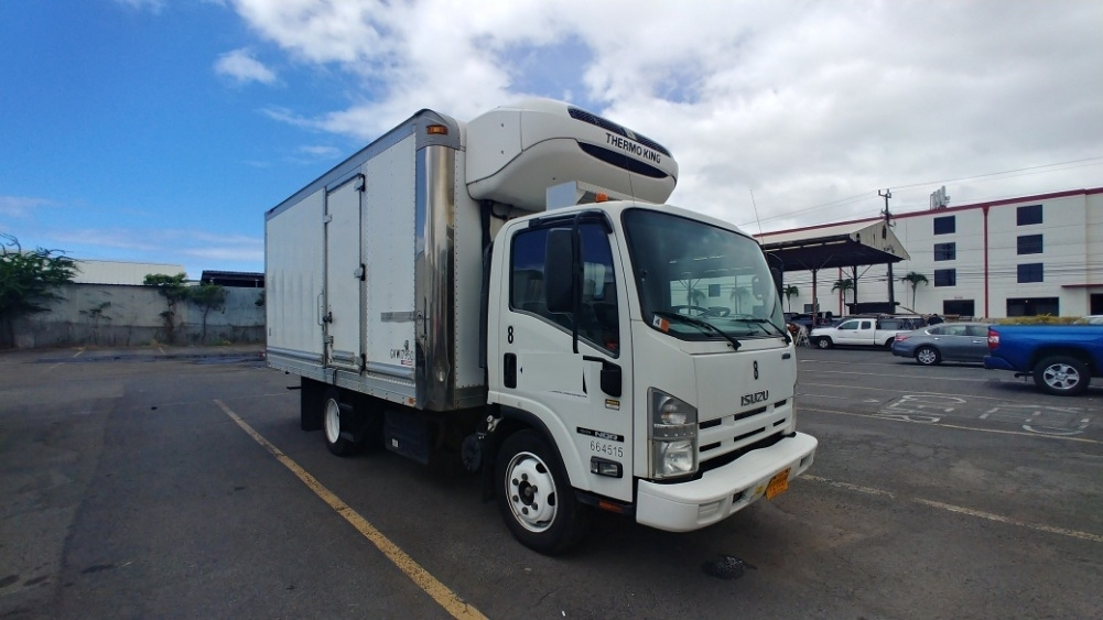 Reefer Truck-Light and Medium Duty Trucks-Isuzu-2013-NQR-TORRANCE-CA-94,462 miles-$39,750
