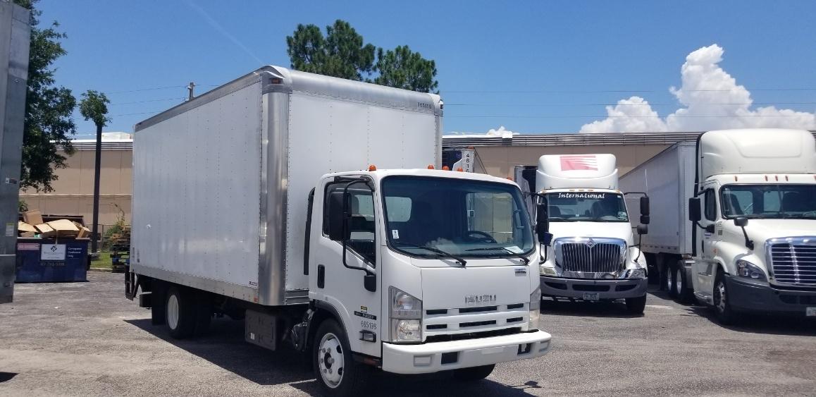 Medium Duty Box Truck-Light and Medium Duty Trucks-Isuzu-2013-NQR-ORLANDO-FL-9,295 miles-$36,000