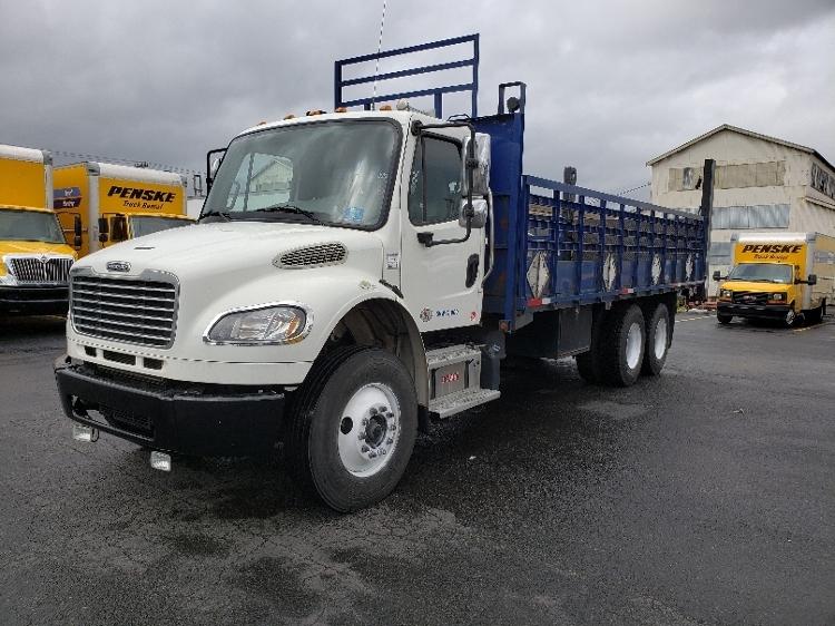 Flatbed Truck-Light and Medium Duty Trucks-Freightliner-2013-M2-SEATTLE-WA-77,681 miles-$54,750