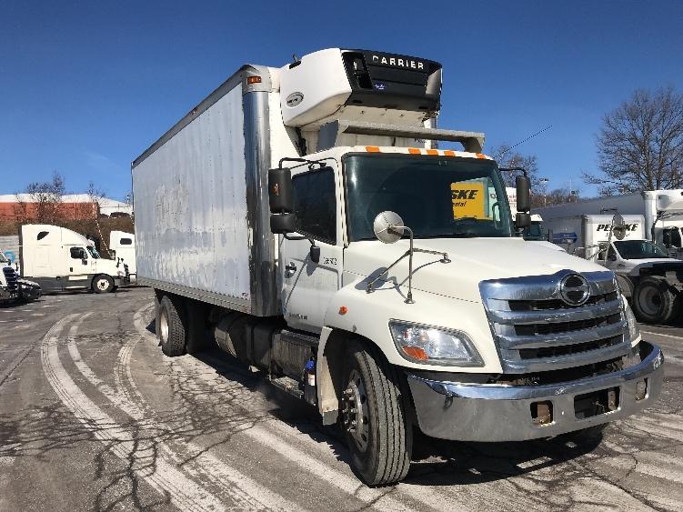 Reefer Truck-Light and Medium Duty Trucks-Hino-2013-338-WHITE DEER-PA-163,635 miles-$33,500