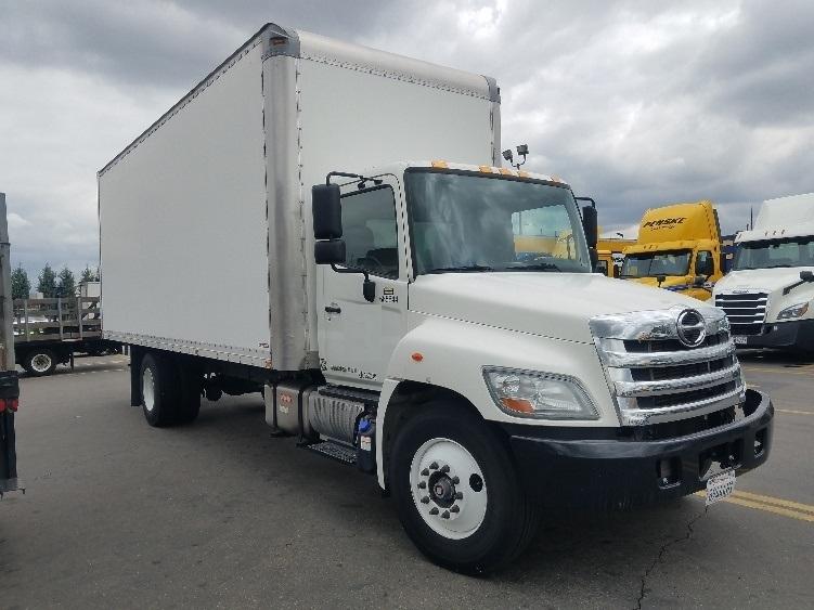 Medium Duty Box Truck-Light and Medium Duty Trucks-Hino-2013-268-TORRANCE-CA-63,875 miles-$45,000
