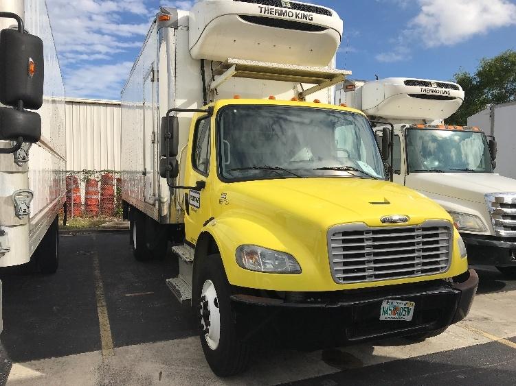 Reefer Truck-Light and Medium Duty Trucks-Freightliner-2014-M2-POMPANO BEACH-FL-118,551 miles-$40,250