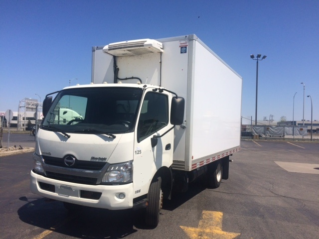 Reefer Truck-Light and Medium Duty Trucks-Hino-2013-195-SAINT LAURENT-PQ-213,597 km-$44,250