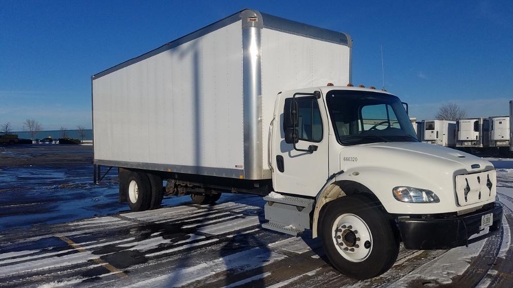 Medium Duty Box Truck-Light and Medium Duty Trucks-Freightliner-2013-M2-SHEBOYGAN-WI-36,974 miles-$44,250