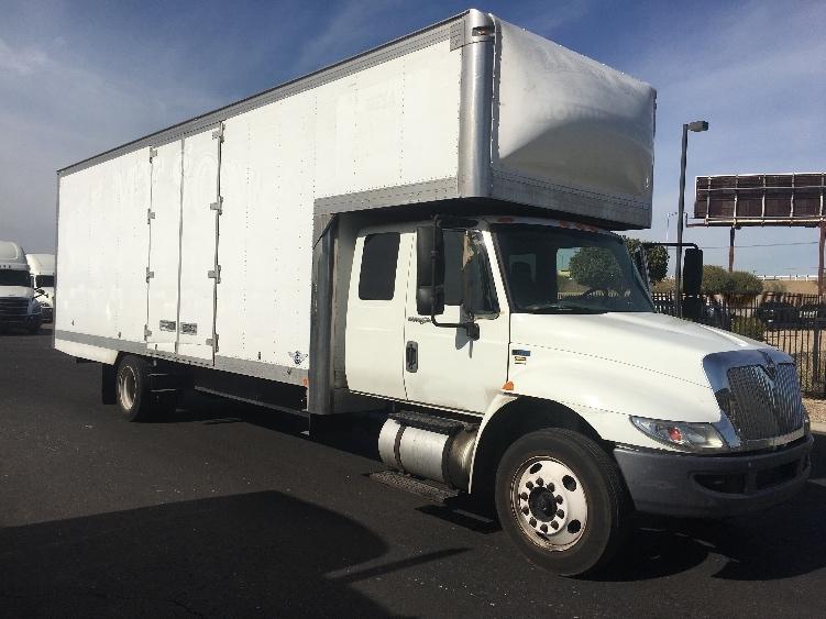 Medium Duty Box Truck-Light and Medium Duty Trucks-International-2013-4300M7-PHOENIX-AZ-144,544 miles-$32,250
