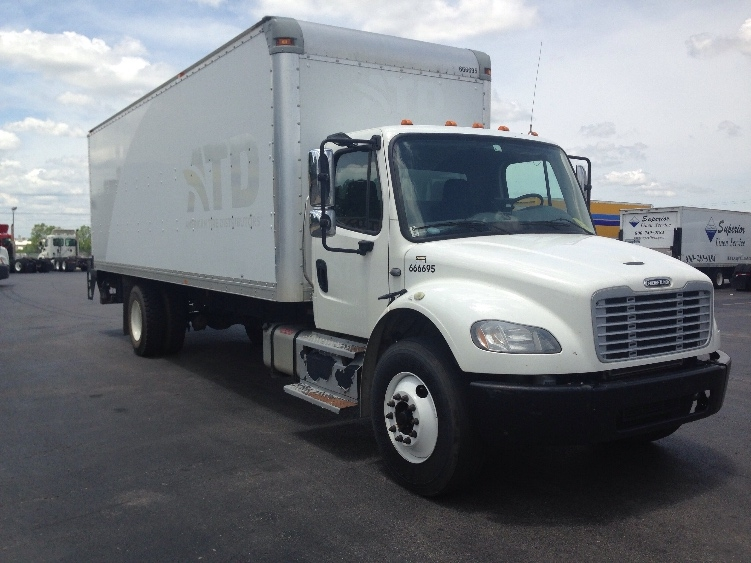 Medium Duty Box Truck-Light and Medium Duty Trucks-Freightliner-2013-M2-TULSA-OK-291,974 miles-$30,250