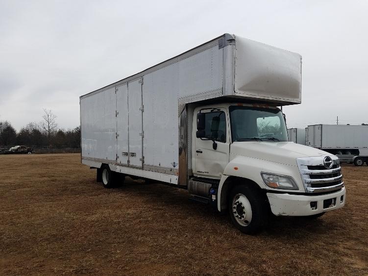 Medium Duty Box Truck-Light and Medium Duty Trucks-Hino-2012-268-GREENVILLE-SC-225,485 miles-$24,250
