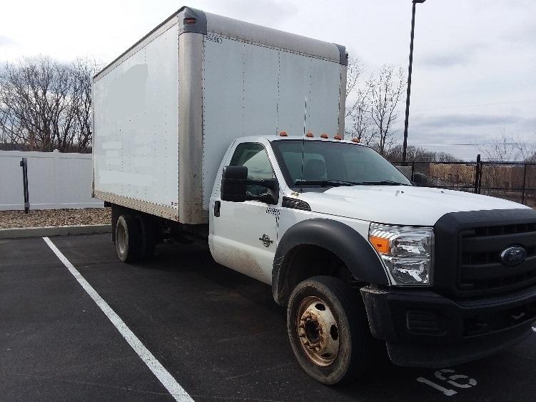 Medium Duty Box Truck-Light and Medium Duty Trucks-Ford-2013-F550-ZELIENOPLE-PA-146,046 miles-$23,500