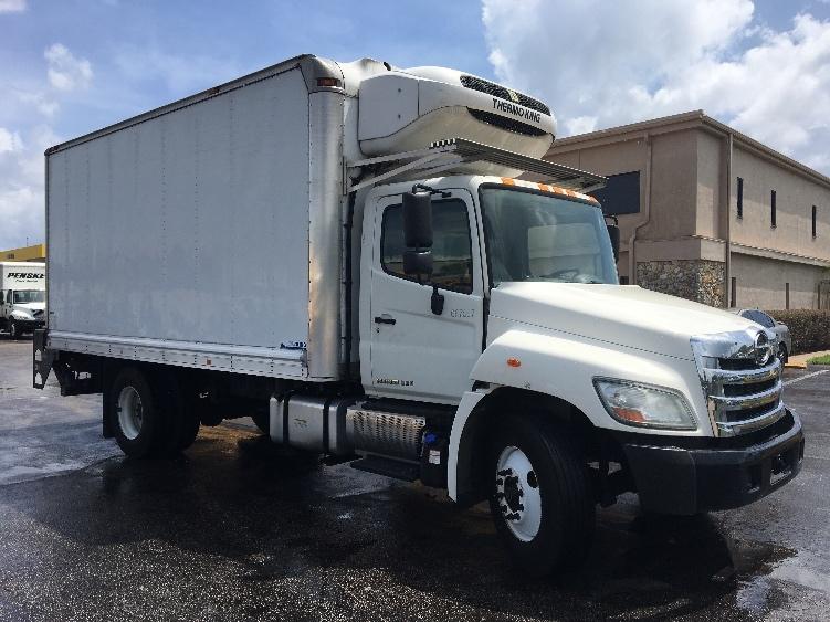 Reefer Truck-Light and Medium Duty Trucks-Hino-2013-268-ORLANDO-FL-140,786 miles-$49,500