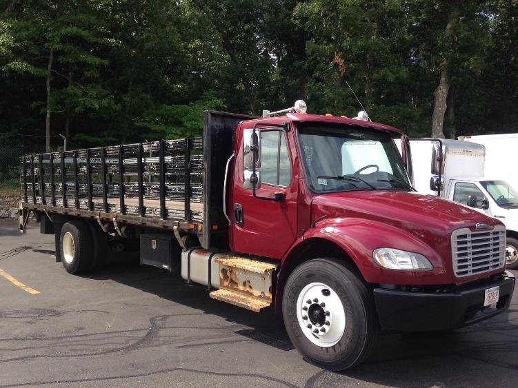 Flatbed Truck-Light and Medium Duty Trucks-Freightliner-2014-M2-BRAINTREE-MA-167,452 miles-$37,750