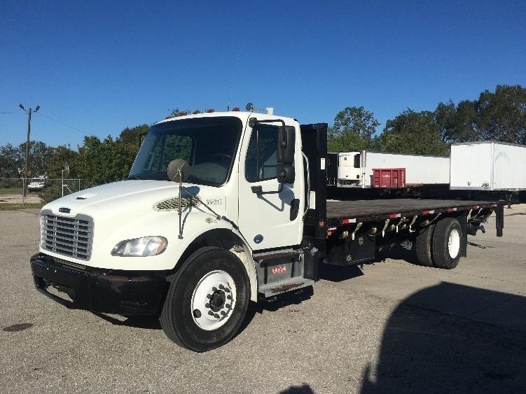 Flatbed Truck-Light and Medium Duty Trucks-Freightliner-2013-M2-ORLANDO-FL-154,489 miles-$48,250