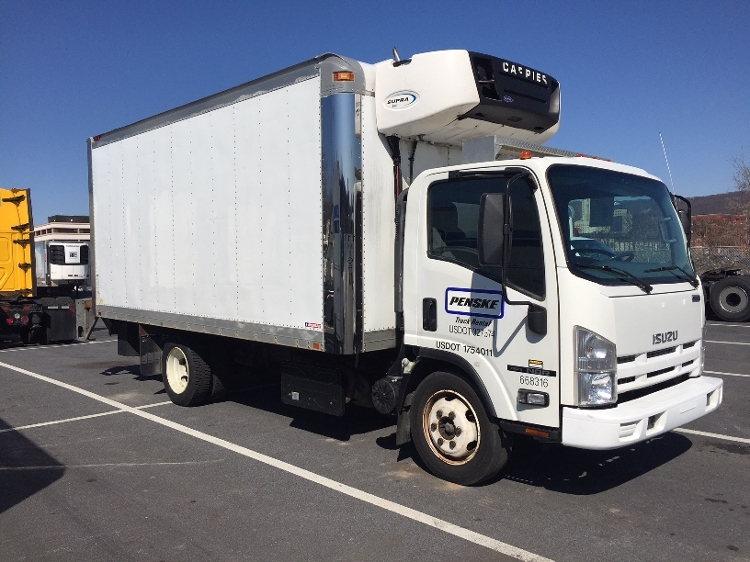 Reefer Truck-Light and Medium Duty Trucks-Isuzu-2013-NQR-LANCASTER-PA-218,544 miles-$26,500