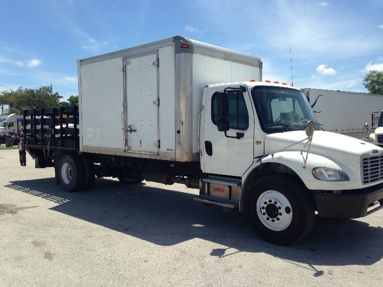 Flatbed Truck-Light and Medium Duty Trucks-Freightliner-2014-M2-POMPANO BEACH-FL-111,510 miles-$59,250