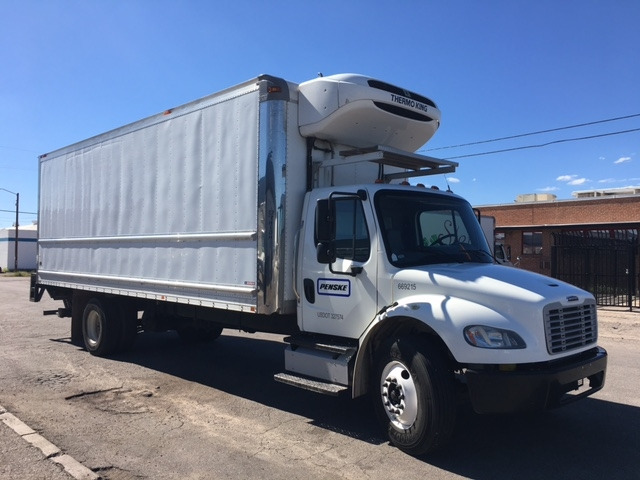 Reefer Truck-Light and Medium Duty Trucks-Freightliner-2014-M2-TUCSON-AZ-216,339 miles-$50,500