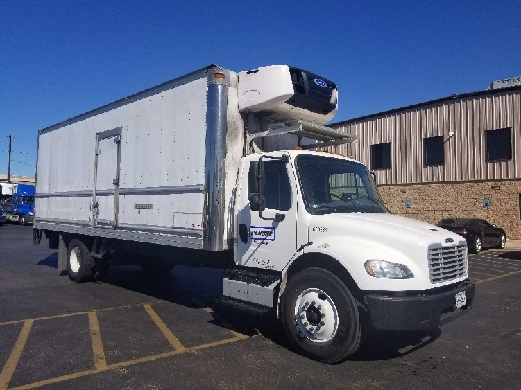 Reefer Truck-Light and Medium Duty Trucks-Freightliner-2014-M2-ARLINGTON-TX-187,980 miles-$51,000