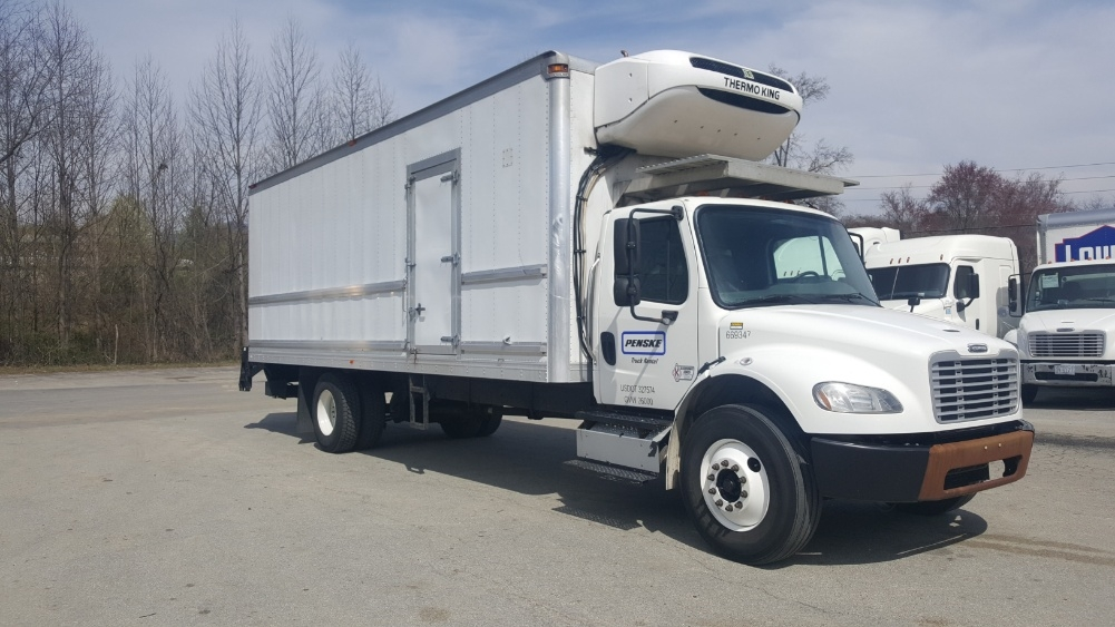 Reefer Truck-Light and Medium Duty Trucks-Freightliner-2014-M2-CHARLOTTE-NC-191,247 miles-$43,250
