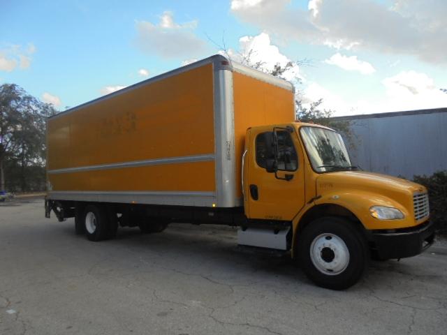 Medium Duty Box Truck-Light and Medium Duty Trucks-Freightliner-2014-M2-JACKSONVILLE-FL-119,675 miles-$49,250