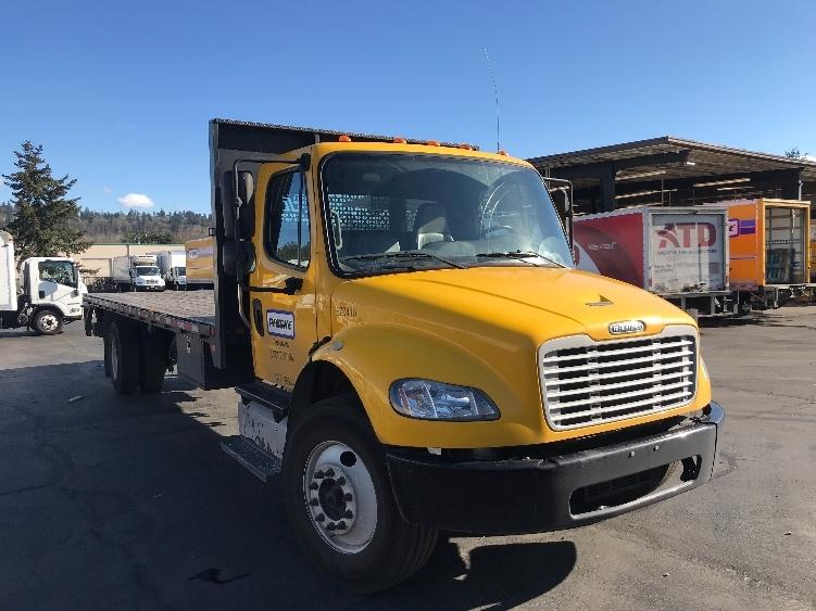 Flatbed Truck-Light and Medium Duty Trucks-Freightliner-2014-M2-KENT-WA-76,237 miles-$48,000