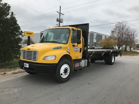Flatbed Truck-Light and Medium Duty Trucks-Freightliner-2014-M2-EARTH CITY-MO-274,270 miles-$24,750