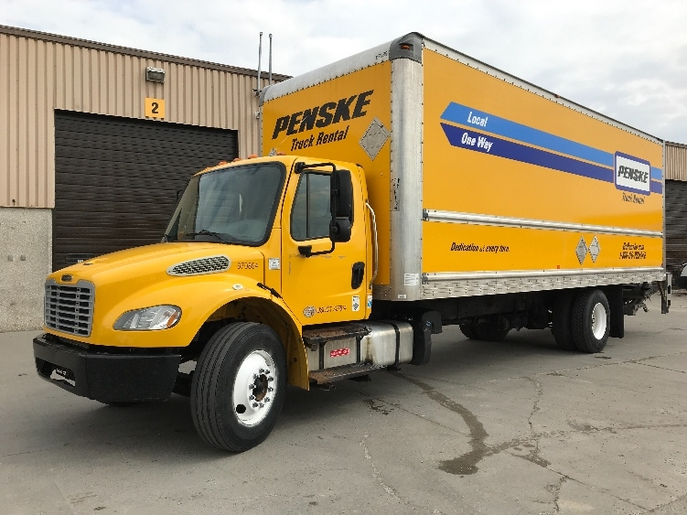 Medium Duty Box Truck-Light and Medium Duty Trucks-Freightliner-2014-M2-OMAHA-NE-210,403 miles-$31,750