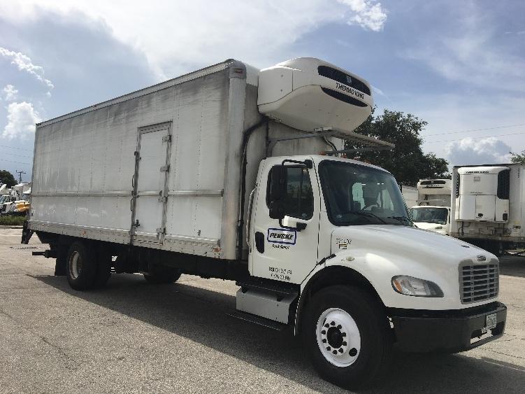 Reefer Truck-Light and Medium Duty Trucks-Freightliner-2014-M2-POMPANO BEACH-FL-166,931 miles-$53,750