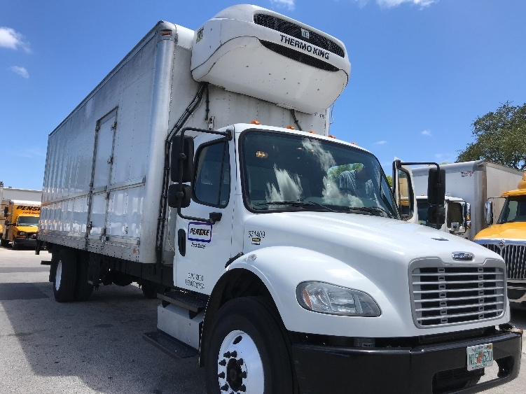 Reefer Truck-Light and Medium Duty Trucks-Freightliner-2014-M2-POMPANO BEACH-FL-155,251 miles-$55,500